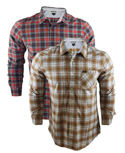 RVCA Gazi Long Sleeve Shirt