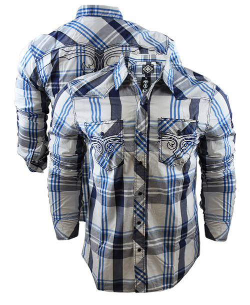 Afflction Discover Covenant Long Sleeve Shirt