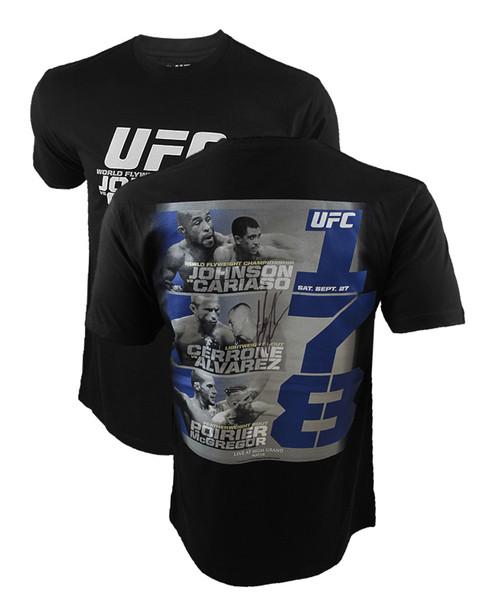 Cowboy Cerrone Autographed UFC 178 Event Shirt