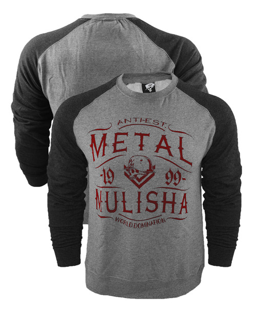 Metal Mulisha Scotch Crew Raglan Sweatshirt