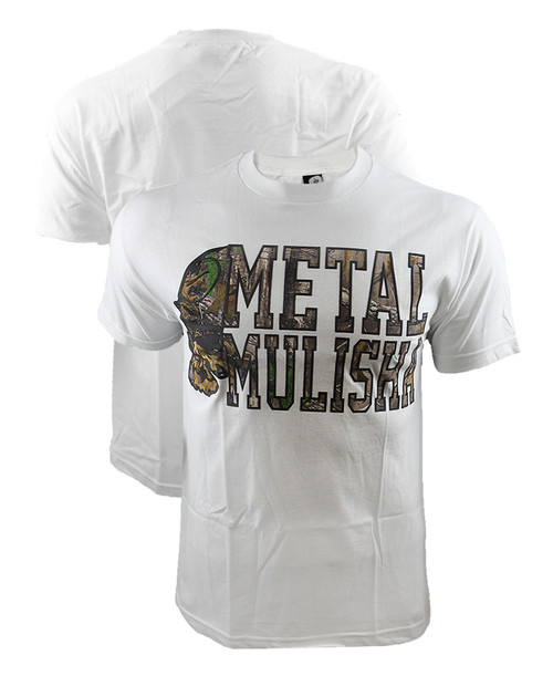 Metal Mulisha Lockup White Shirt