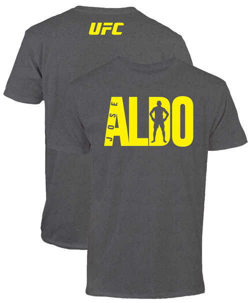 Jose Aldo UFC 189 Fighter Lettering T-Shirt