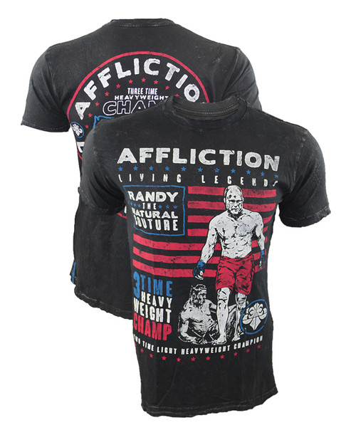 "Affliction Living Legends Randy ""The Natural"" Couture Shirt"