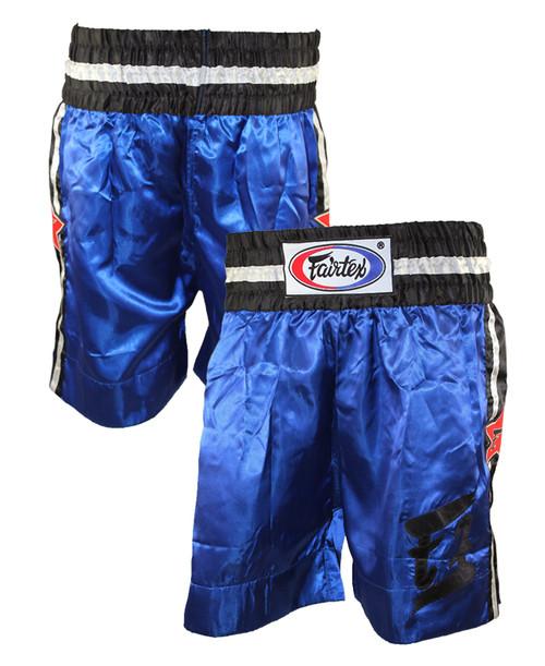 Fairtex Blue Boxing Trunks