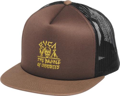 RVCA Bones Opposite Trucker Hat
