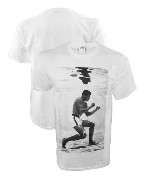 Muhammad Ali Under Water Vintage Photo Shirt