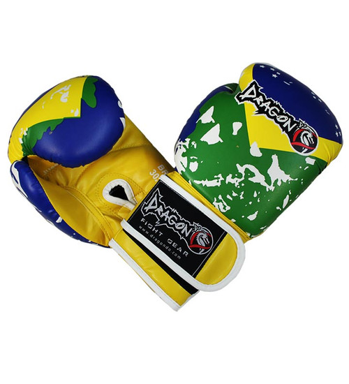 Dragon Do Brazil Boxing Gloves