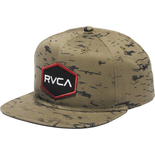 RVCA Badger Snapback Hat