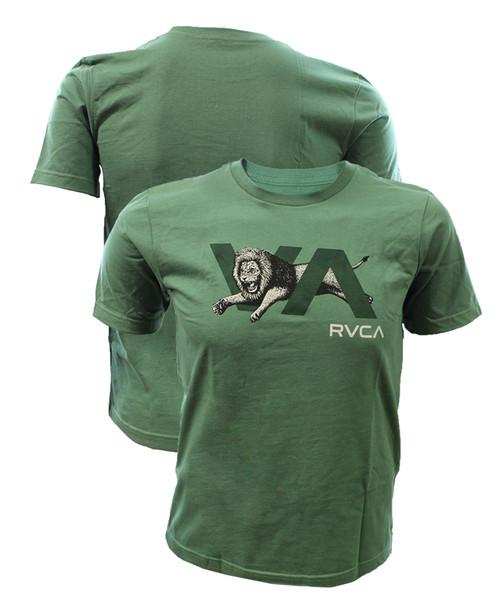 RVCA Boys Lion VA Shirt