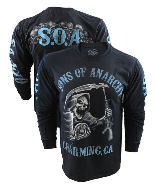 Sons Of Anarchy Reaper Long Sleeve Shirt
