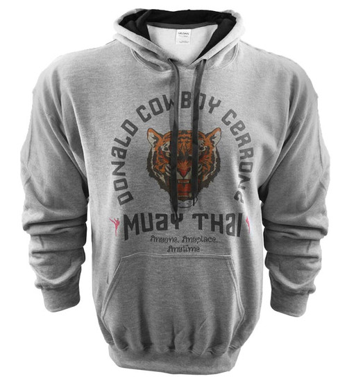 Iron Addiction Cowboy Cerrone Muay Thai Hoodie