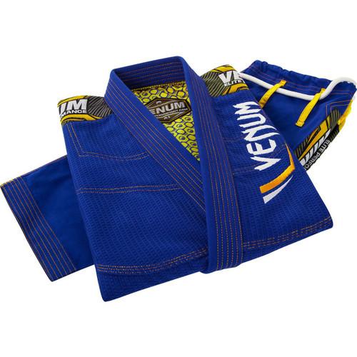 Venum Elite BJJ Gi Royal Blue/Yellow