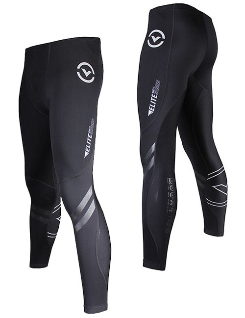 Virus Men's Elite Series Bioceramic Compression Pants - Recovery + Endurance