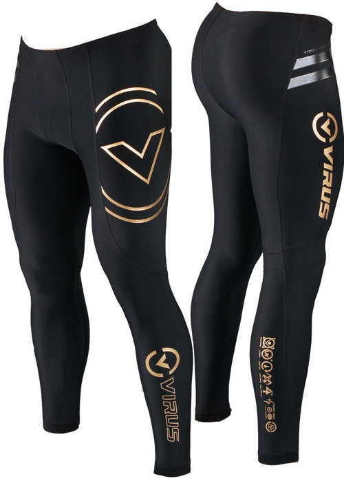 Virus Men's Energy Series Bioceramic Compression V2 Tech Pants (Au9)