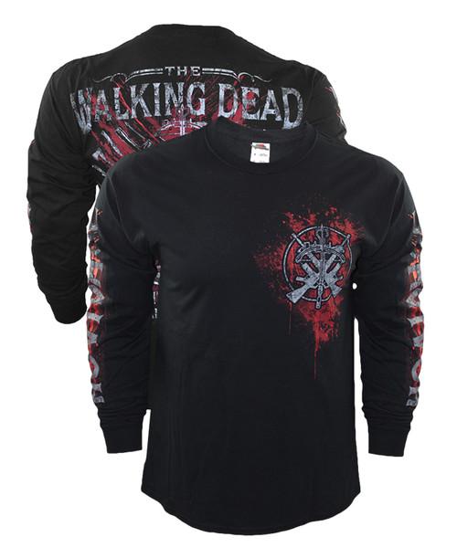 The Walking Dead Academy Long Sleeve Shirt