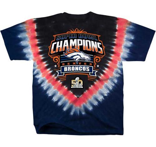 Denver Broncos Super Bowl 50 Champions T-shirt