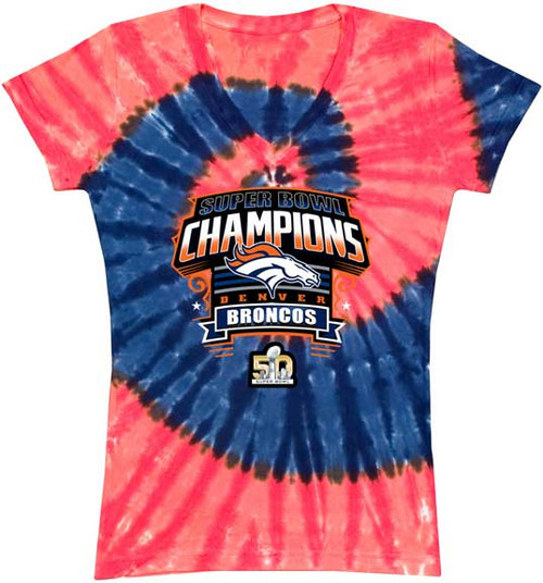 Denver Broncos Super Bowl 50 Champions WOMENS T-shirt