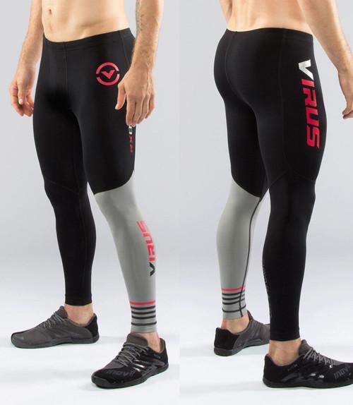 Virus Men's Compression Tech Pants RX8 Black/Grey Summer 2016