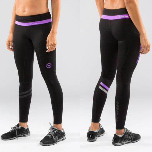 Virus Women's LUNAR Active Tech Pant (ECo19) Black/Purple