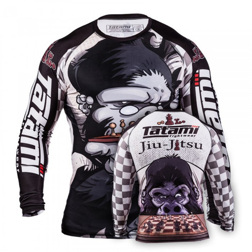 Tatami Chess Gorilla Rash Guard