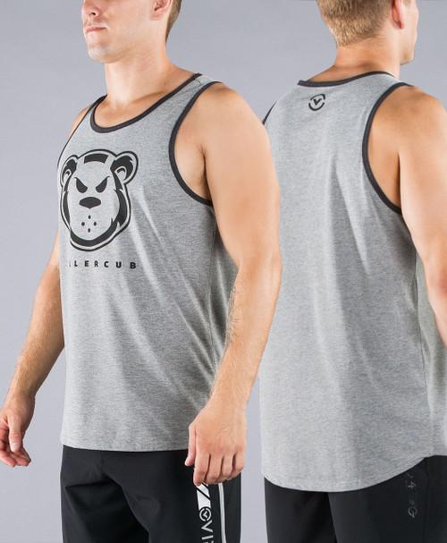 Virus Killer Cub Swanson Signature Tank Top Shirt (Gray/Black)