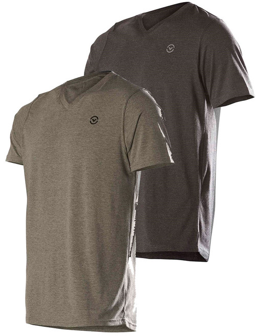 Virus Men's REP Premium Custom V-neck T-shirt (PC6)