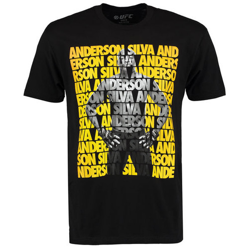 UFC Anderson Silva Fighter Repeat T-Shirt