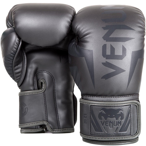 Venum Elite Boxing Gloves ALL GREY