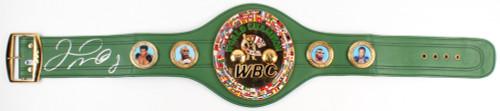 Floyd Mayweather Jr Autographed Full Size WBC Championship Belt