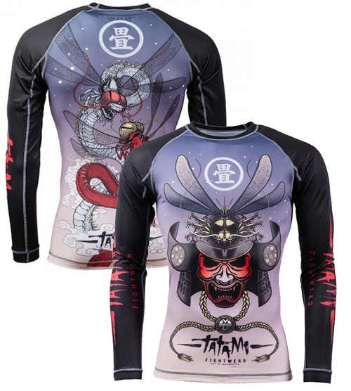 Tatami Dragon Fly V2 Long Sleeve Rash Guard