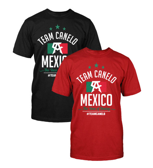 Canelo Alvarez Team Flag Shirt
