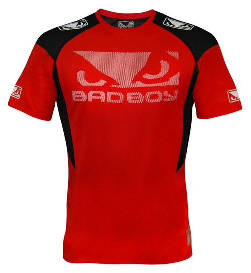 Bad Boy Performance Walkout Shirt Red/Black