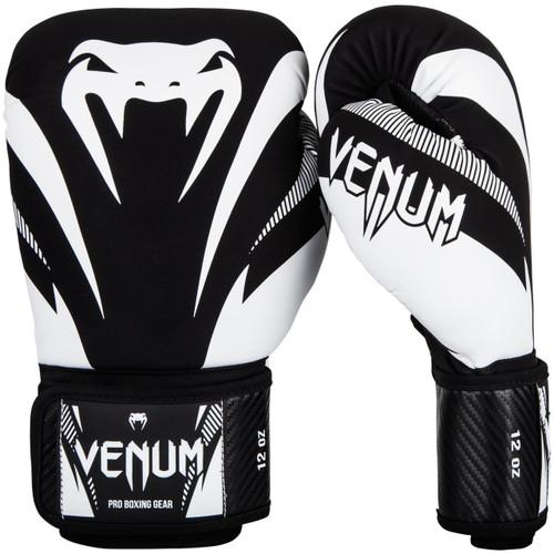 Venum Impact 16oz Boxing Gloves Black/White