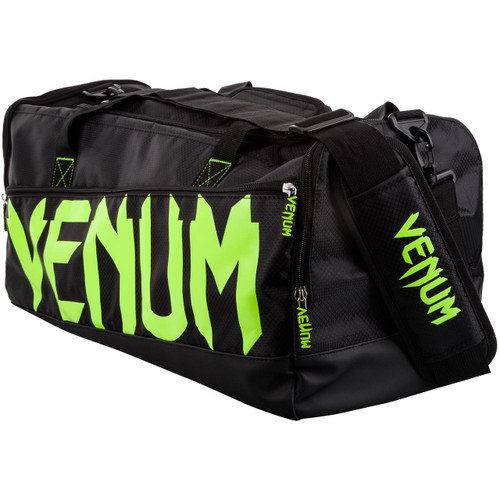 Venum Sparring Sports Bag Black/Neon Yellow