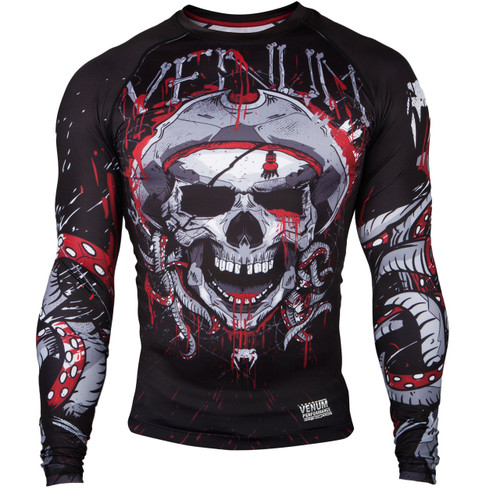 Venum Pirate 3.0 Long Sleeve Rash Guard