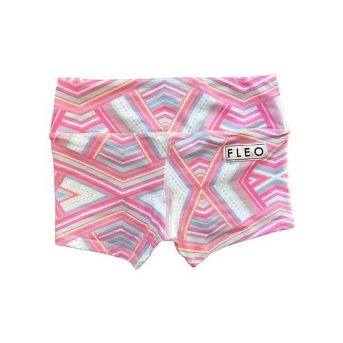 FLEO Pastel Aztec Shorts