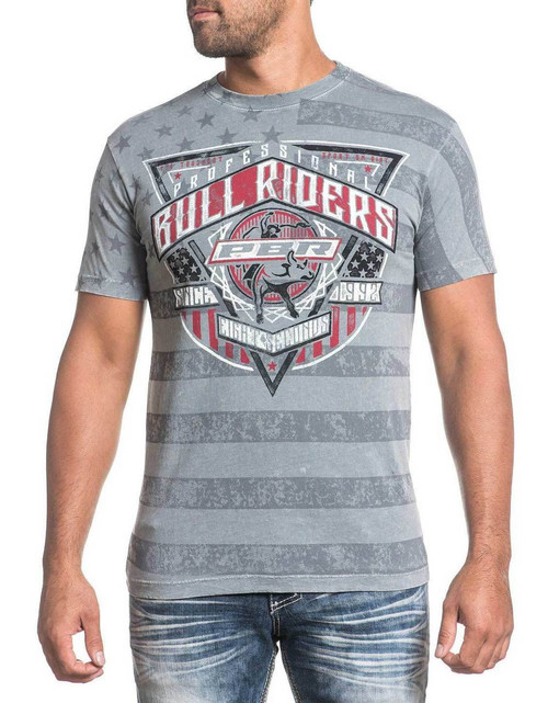 Affliction PBR Rawhide Silver Lava Wash Tee