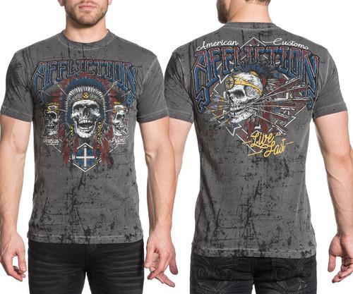 Affliction AC Wild Jackal T-shirt