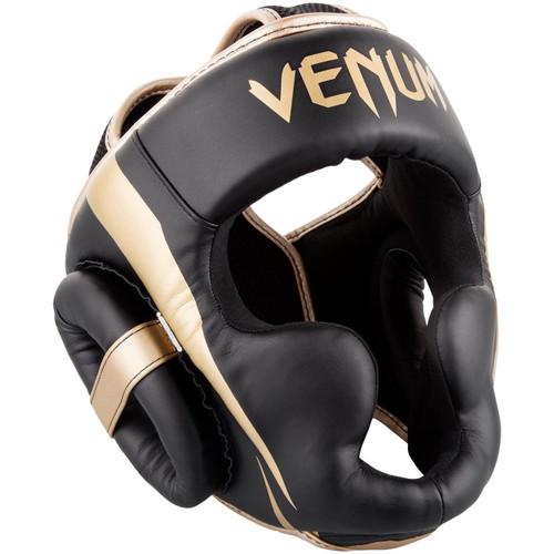 VENUM ELITE HEADGEAR BLACK/GOLD