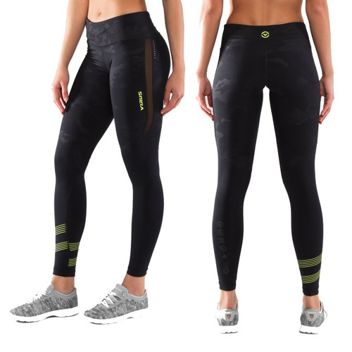 Virus  Women's Stay Cool Eco33 V2 Compression Pant - BLACK CAMO