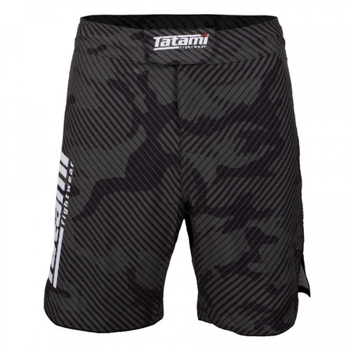 Tatami Renegade Red Camo MMA BJJ No Gi Competition Fight Board Shorts