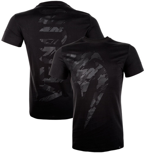 Venum Techmo Giant T-shirt Black/Black