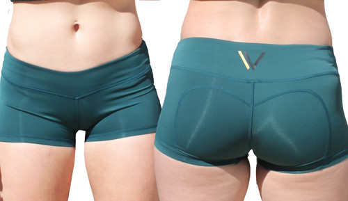 Vull Sport Champion Shorts - Dark Teal