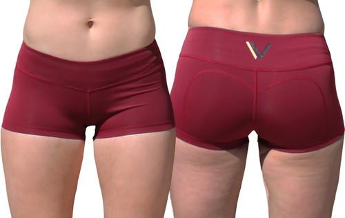 Vull Sport Champion Shorts - Maroon