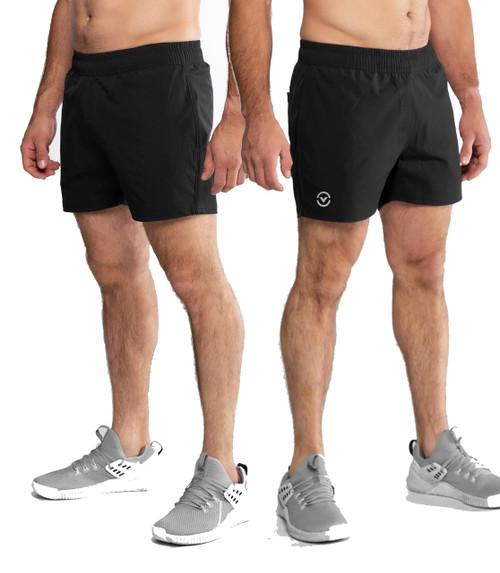 Virus Mens ST14 HIGH TIDE ACTIVE SHORT - BLACK