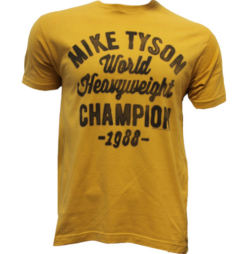 Mike Tyson 1988 Champion T-shirt