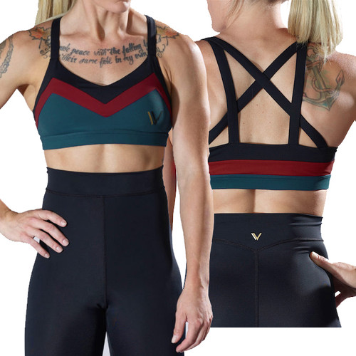 Vull Sport Trinity Sports Bra Tri-Color