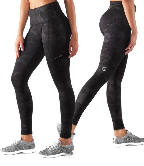 Virus ESio61 Athena Stay Warm Compression Pants BLACK CAMO