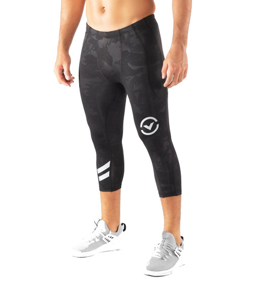 Virus Mens Sio17 Stay Warm Compression 3/4 Length Tech Pants