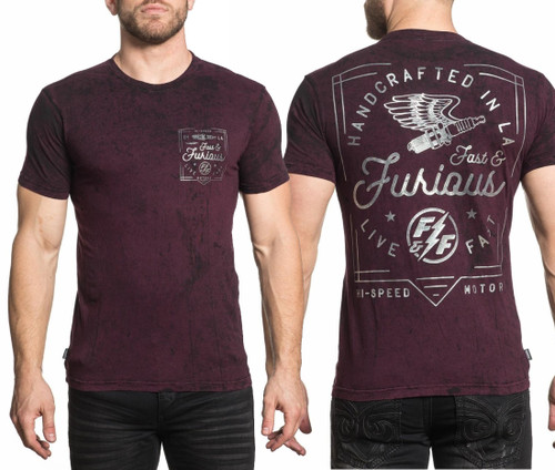 Affliction Fast & Furious LA Tee